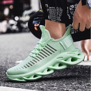 Shoes Sale Running 2020 for Men Hot Light Green Big Boy Sport Shoes Mesh Breathable Mens Running Shoes Size Gym Sneakers Men