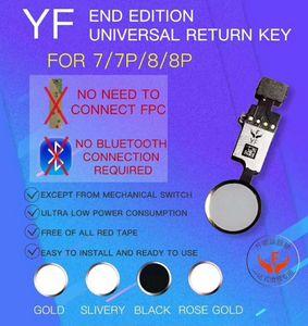 YF NUOVO universale tasto domestico per iPhone 7 7 plus 8 8 più il cavo della flessione del tasto Nessuna necessità di collegare il bluetooth di funzione