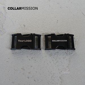 10 шт. / лот выгравированная пряжка, мы предоставляем услуги лазерной гравировки настроить логотип 20 мм черный CK20H