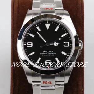 Luxus-Superqualität GM-Fabrik Armbanduhr Explorer 214.270-77.200 214.720 39mm 904L Stahl Cal. 3132 Uhrwerk Automatik Herren-Uhr-Uhren
