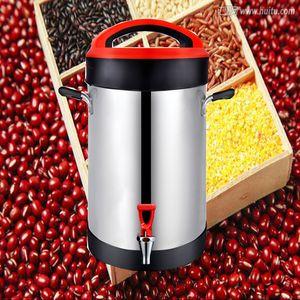 Machine à lait de soja en acier inoxydable commerciale automatique 220V / machine à pâte / presse-agrumes de soja de grande capacité 10L