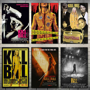 Kill Bill Hot Movie Art Silk Canvas Poster 13x20 24x36inch Immagini a parete-002