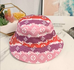 2020 sun hat designer bucket Hats Camouflage Fisherman Caps Fishing Hunting Sun Protective Beach Hat Folded casual cap
