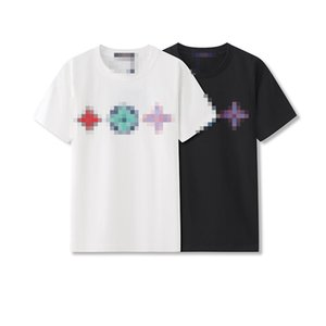 HOT SALE Mens Designer T-Shirts Summer Fashion Mens Womens Luxury Top Tees Brand T-shirt Short Sleeves Geometric Print T Shirts A 2052202V
