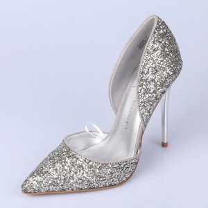 Fancy2019 Value Super Zero Code Section Autumn Concise Shallowing Powder Shallowing Powder fina con zapatos de boda