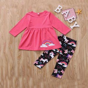 ropa de bebé Media y manga larga al por mayor de la ropa de los niños pequeños de las mujeres del otoño y del invierno del juego BY2-010