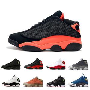2019 Atmosfer Gri 13 13 s Siyah Kızılötesi erkekler basketbol ayakkabı GS Terracotta Allık zeytin XIII 13 s erkek bred spor Sneakers Atletizm 8-13