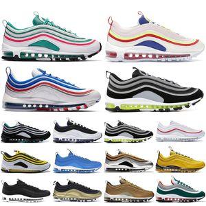 nike air max 97 Top Quality 97OG ritorno al passato Future Amarillo Neon Seoul Università Rosso Designer scarpe da ginnastica nere riflettenti oro NEON Sport Sneakers 36-45