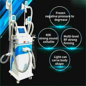5 In 1 Handles Cryolipolysis Salon Use Multifunction Cavitation Rf Lipo Laser Cryolipolysis Machine Cryolipolysis + Rf+ Laser + 40Khz