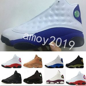 Men Wheat 13 Basketball Shoes Olive Hyper Royal Altitude Sneakers Cheap Bordeaux 13s Sports Training Shoes Mens Trainers Size 41-47