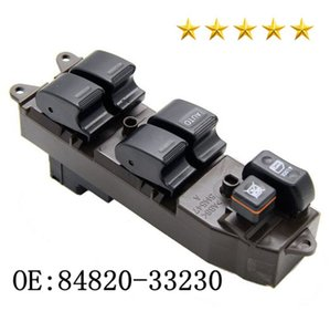 New Arrival Window Switch 8482033230 Electric Control Window Lifter Switch 84820-0K010 84820-33230 For Hilux 2004-2015 High Quality