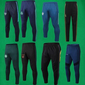 19 20 Real Madrid Fußball-Hosen 2019 2020 Boca Juniors Fußball-lange Hose AJAX Trainingshose Mens Black Jogger Jogginghose Flamengo