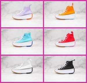 The new J.W. JW Anderson Chuck Run Star Hike Vulcanized Shoes for Womens Boots Female Sneakers Platform Shoe Girls Sneaker