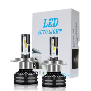 Tres colores de temperatura H4 LED H7 H11 H8 H1 H3 Faros delanteros 60W 10000LM Car Styling 6500K 4300K 3000K led automotivo
