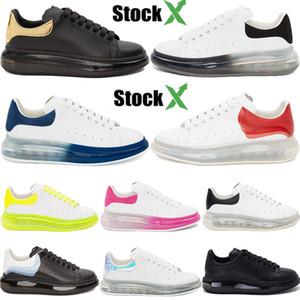 Moda yılan cilt Lüks tasarımcı ayakkabı İNGILTERE üçlü siyah beyaz 3 M yansıtıcı yeşil kırmızı gümüş yeşim 25 colorways mens weakers
