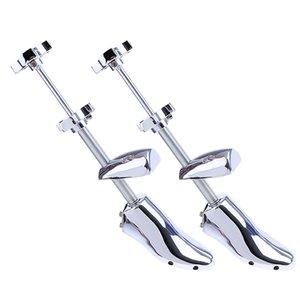 2pieces Adjustable Shoe Stretcher Metal Footwear Extender (EU 39-46)
