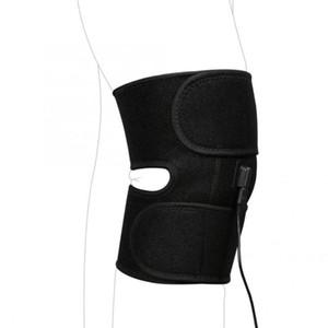 Yosoo Knee Sleeve Knee Brace Adjustable Heated Pad Heat Therapy Wrap Brace Thermotherapy Support Pad