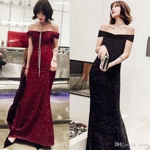 Abendkleid Trend neues 2019 Bankett Elegante Elegante Damen-Partei Temperament Cocktail Kleidung Toast Braut Kleid