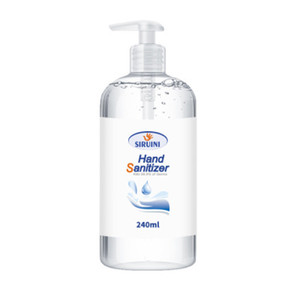 In Stock SIRUINI Hand Sanitizer With Vitamin E 30ml 60ml 240ml 300ml Wash Free for Home Office DHL free