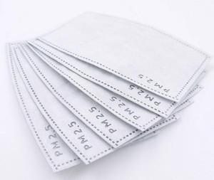 Descartável Máscara de Filtro Pad PM2.5 tecido não-tecido Camadas filtro Máscara-substituível para Máscaras produtos de protecção