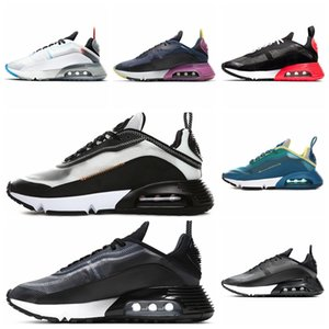 Newest 2090 Men Women Running Shoes Pure Platinum Duck Camo Bred Triple Black White 2090s Designer Sports Sneakers Size 36-45