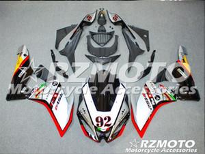 Nueva ABS inyección motocicleta carenados Kits 100% Fit Para Aprilia RSV4 1000 09 10 11 12 13 14 15 2009-2015 conjunto de carrocería de encargo negro rojo blanco