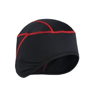 Sport Windproof Polyester Warm Winter Fashion Elastic Free Size Sweat Absorbent Running Cycling Cap