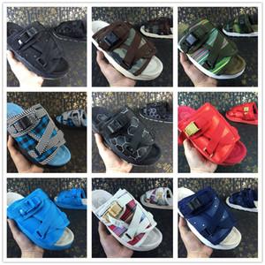Марка Visvim Тапочки Мода Pantoufle Мужчина Женщина Любители Повседневная обувь Zapatillas Пляжные Сандалии Открытый Тапочки Спортивные Сандалии