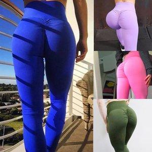 Seksi Kadın Tayt Sıkı Yüksek Bel Geri Dantelli Legging Butt Lift Pantolon Kalça yukarı itin Egzersiz Stretch Capris Deporte Mujer