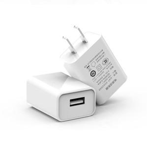 Branco real certificado UL telefone móvel carregador USB 5 v 1a cabeça de carregamento de Alta qualidade de Viagem FCC certificada doca de carregamento