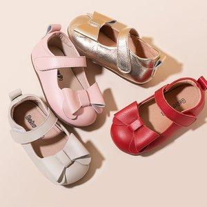 2020 zapatos de bebé de la manera zapatos blanco rojo rosa de oro para chicas Deportes corrientes de la zapatilla de deporte 14cm 15cm 16cm