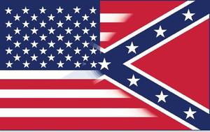 envío libre 5X3FT bandera americana con la bandera rebelde confederado de la guerra civil nueva bandera de estilo