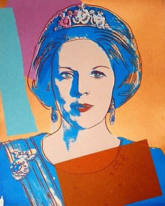 Andy Warhol Art Queen Beatrix of the Netherlands 1985 Home Decor Handcrafts  HD Print Oil Painting On Canvas Wall Art Canvas Pictures 200702