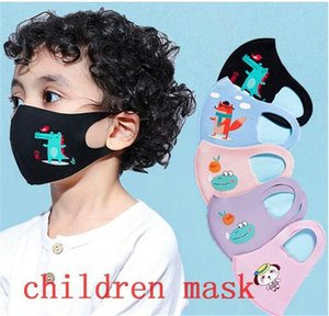 face mask black fashion kids face masks ice silk dust-proof Adult Children  mask celebrity sunscreen thin breathable masks