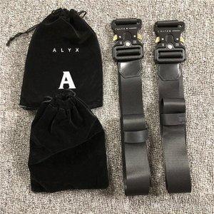 ALYX metal industry functional wind decoration buckle belt men and women hip hop belt high quality 150cm