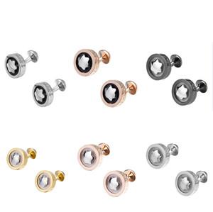 Jóias de alta Qualidade Mens Designer Francês Abotoaduras Pequenas Gemelos de Luxo Casamento Do Pai Do Noivo Groomsmen Presente Cuff Links Ornamentos