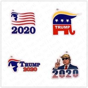 Donald Trump Sticker ordinateur portable 2020 Le président américain américain Élection Trump Paster Hot vente Trump autocollants pour les enfants cadeau Toy D52217 chaud