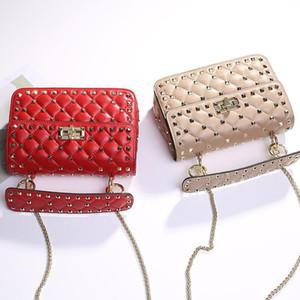 Sacs Designer-épaule pour femmes Mode Femmes chaîne sac à bandoulière Designer embrayages abricot