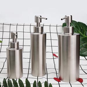 250 ml 350 ml 550 ml Taşınabilir DIY El Sabunluk pompası Paslanmaz Çelik Mason Kavanoz Tezgah Sabun Losyon Dispenser Ücretsiz Nakliye