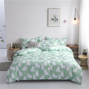 L'alta qualità del modello 3/4 pezzi Bedding Set copripiumino federa piatto di fogli Home Textile all'ingrosso Dropshipping