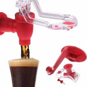 1Pcs Saver Soda Dispensadores Magia Tap Água potável Dispense Bottle Upside Down Coke louça jantar, cozinha Bar Drink Dispenser partido