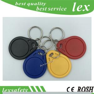 Miglior economici promozionale di alta qualità EM4100 125kHz 100pcs / ISO11785 ABS RFID fob chiave catena personalizzata