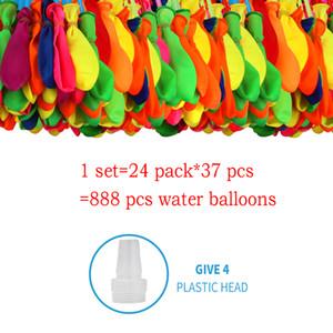 888pcs Water Bombs Balloon Filling Magic Balloons Children Water War Game Supplies Kids Summer Outdoor Beach Toys Children Party Gift Toy