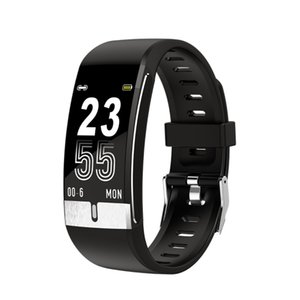 E66 Smart Watch Body Temperature ECG PPG Heart Rate Blood Pressure Oxygen Fitness Tracker Bracelet Smart Band Men Women