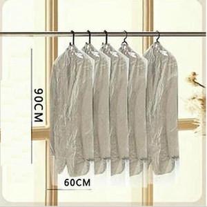 Transporte gratuito 10 pcs / lote Vestuário Para Uso Doméstico Vestuário Vestuário Capa Caixa de protecção Sacos De Armazenamento À Prova de pó Protector