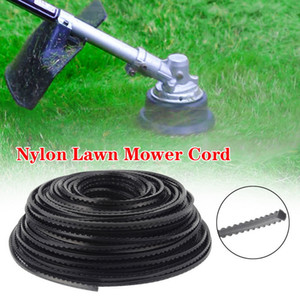 37-86m 2-4mm Round Square Nylon Trimmer Rope Fine Quality Brush Cutter Head Strimmer Line Mowing Wire Lawn Mower Accessory