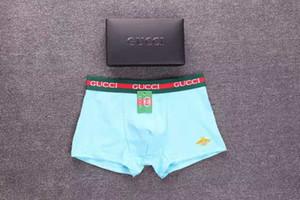 2020Men в дышащий нижнее белье Boxer Fiber U Выпуклые мешок мужские Трусы Boxer Трусы Sexy полиэстер Боксер шорты
