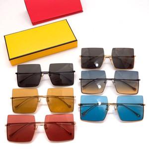 2020 gafas de sol de lujo de las mujeres populares Marca Diseñador Full Rim visión Gafas 0401 / S 60-18-145 envío de la gota