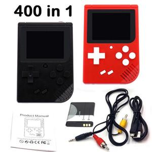 Mini vidéo de poche Jeu console portable Retro 8 bits MODÈLE RS-6 FC 400 AV Jeux JEUX Game Player LCD couleur pour jeu