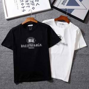 Mens diseñador de la camiseta de lujo del oso de la manera del Mens Balenciaga camisetas de manga corta de impresión 2020 de moda de verano de las mujeres al por mayor de la camiseta
